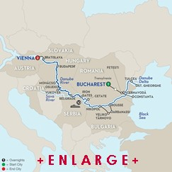 CLICK HERE for Avalon BLUE DANUBE TO THE BLACK SEA River Cruise MAP!!
