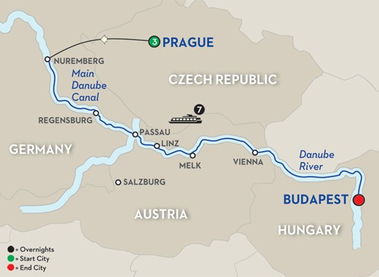 The Legendary Danube - Avalon Waterways Cruises