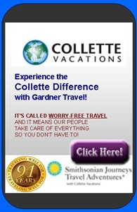 Collette Tours and Vacations!
