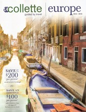 View Collette Vacations E-Brochure of Europe and Africa