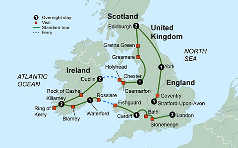 TOURS The British Isles England Scotland Ireland Wales - Collette tours
