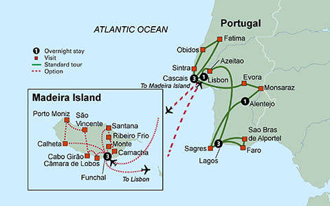 Map Of Spain Portugal And Morocco.Tours Of Spain Portugal And Morocco 2015 2016 Europe Tours