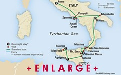 CLICK HERE for Collette SOUTHERN ITALY and SICILY MAP!!