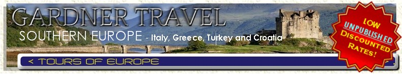 Tours of Italy and Greece