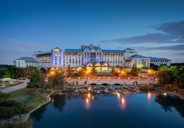 The Gaylord Texan Resort!