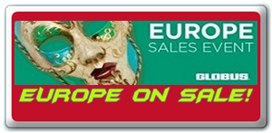 Globus Europe on sale!