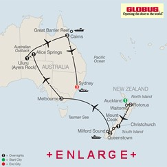 CLICK HERE for Globus Down Under Discovery MAP!!