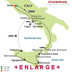 CLICK HERE for Cosmos Southern Italy and Sicily MAP!