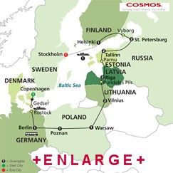 CLICK HERE for Cosmos Jewels of the Baltics MAP!