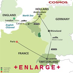 CLICK HERE for Cosmos Taste of Europe MAP!