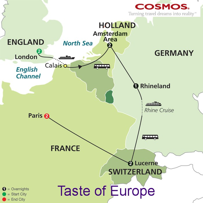 Tours of europe 2018 2019 multi country tours and river cruising cosmos travel counsel gumiabroncs Gallery