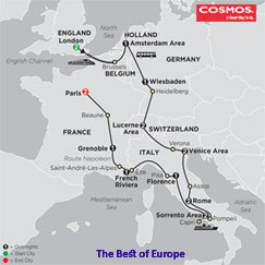 CLICK HERE for Cosmos Best of Europe MAP!