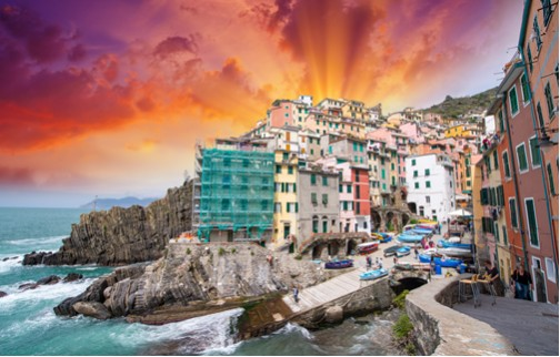 NORTHERN ITALY'S HIGHLIGHTS and CINQUE TERRE by Globus Tours