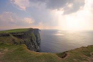 Touring Cliffs of Moher