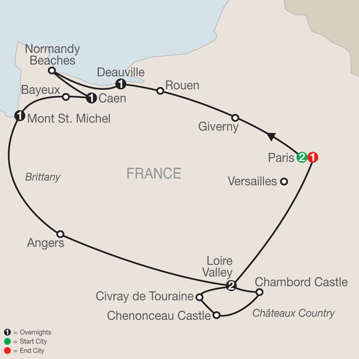 Tours Of France And Germany Europe Tours