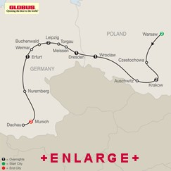 CLICK HERE for Globus Poland, East Germany and WWII MAP!!