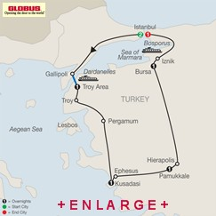 CLICK HERE for Globus Best of Turkey MAP!