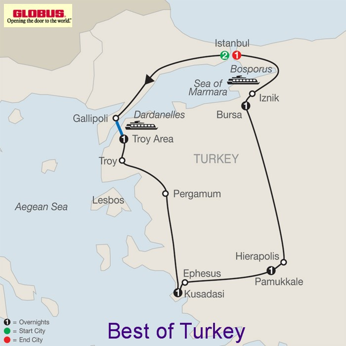 Best of Turkey 2016 2017 by Globus Tours Europe Tours