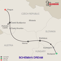 CLICK HERE for Globus Bohemian Dream MAP!!