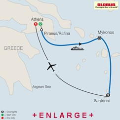CLICK HERE for Globus Greek Island Hopper MAP!