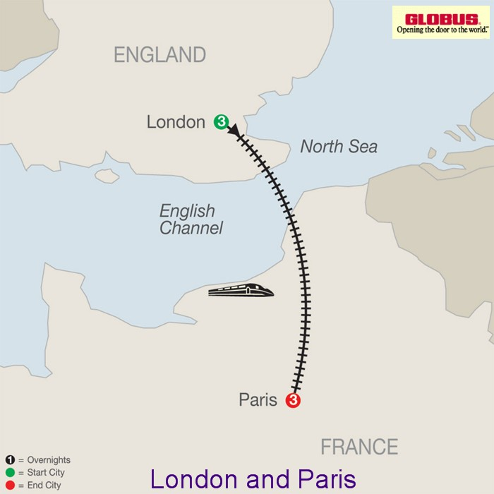 Tours Of Europe 2017 2018 Multicountry And River Cruising: Eurostar Map London To Paris At Infoasik.co