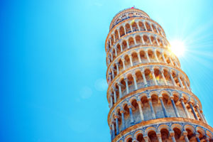 Touring Leaning Tower of Pisa