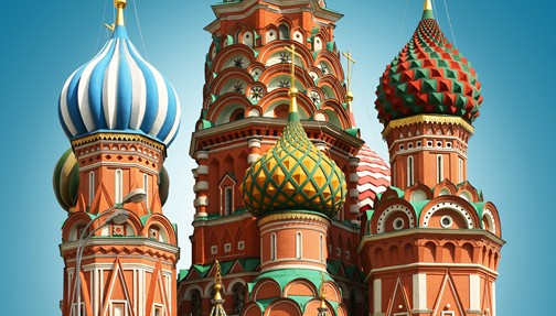 ST. PETERSBURG AND MOSCOW  by Globus Tours
