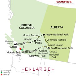 CLICK HERE for Cosmos The Canadian Rockies MAP!!